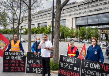 Salariés MBF à Bercy