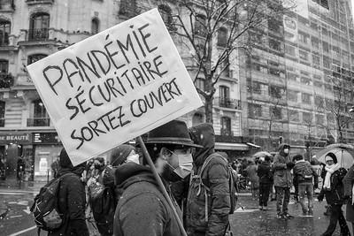 Pademie sécuritaire photo Bruno Arlequin